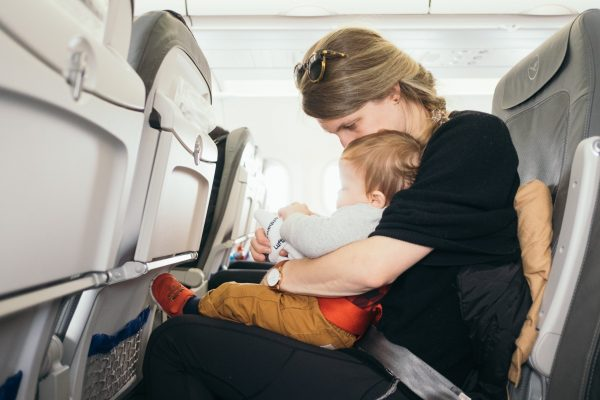 Flying with Baby | Central Mass Mom