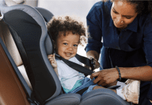 Child in Car Seat | Central Mass Mom