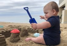 Baby's First Beach Trip | Central Mass Mom