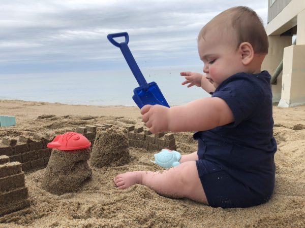 Baby at the Beach   Central Mass Mom